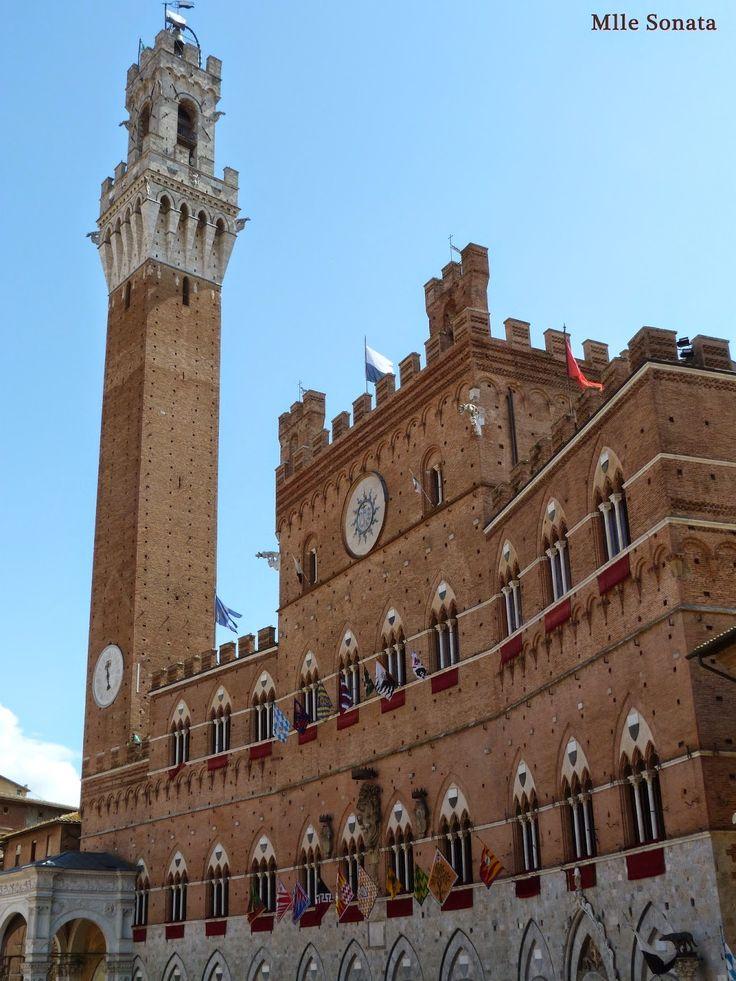 Voyage Italie Sienne Palazzo Pubblico #italie #sienne