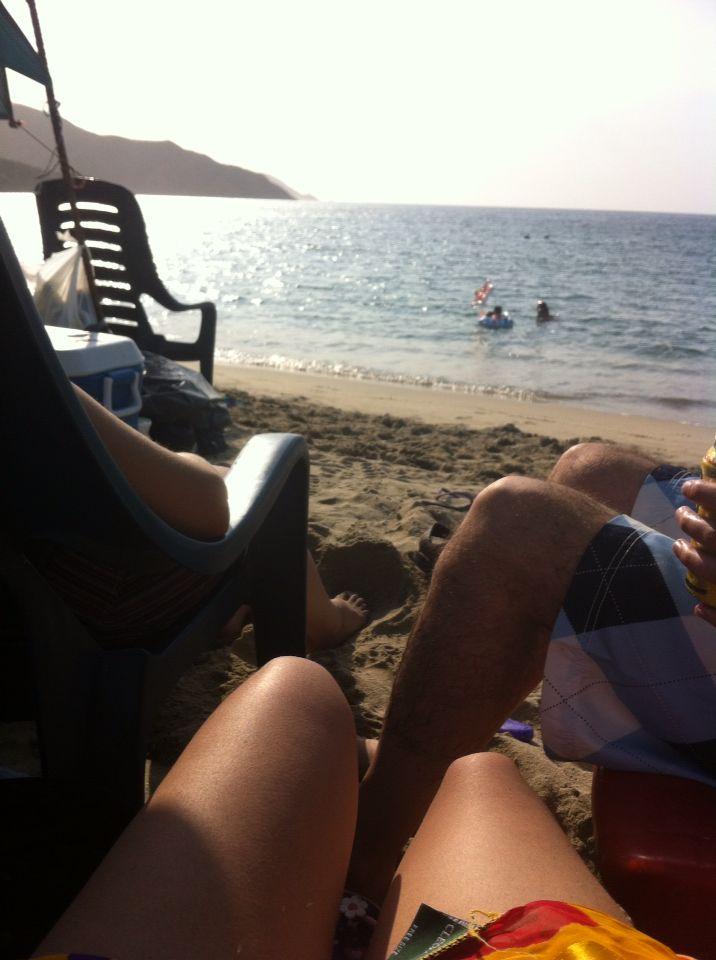 Playa bahía Cocha
