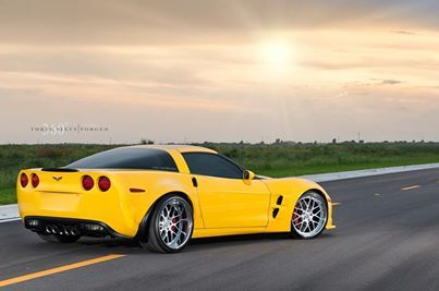 Chevy Corvette Z06 with 360 Forged Mesh 8s