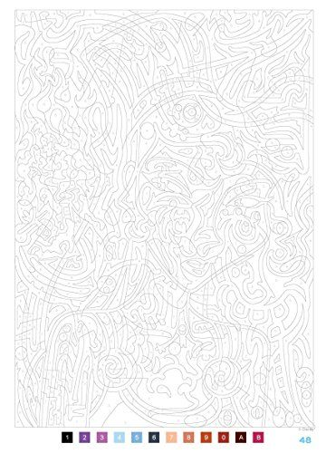 99 best images about coloriage numeros on pinterest - Carre magique a imprimer ...