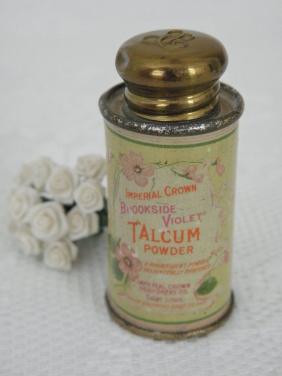 1920s Talcum Powder Tin