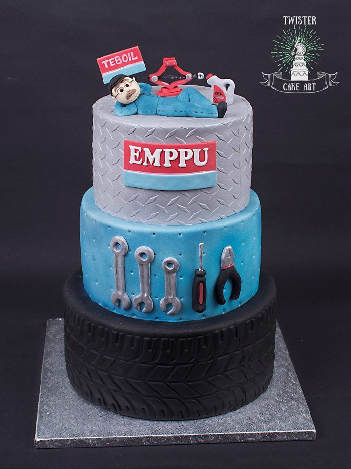 Car mechanic,Retirement cake,