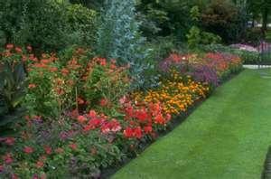 raised beds..: Color Flower, Side Yard, Gardens Idea, Google Search, Perennials Gardens, Fall Gardens Tips, Flower Gardens, Flower Beds, Dream Gardens