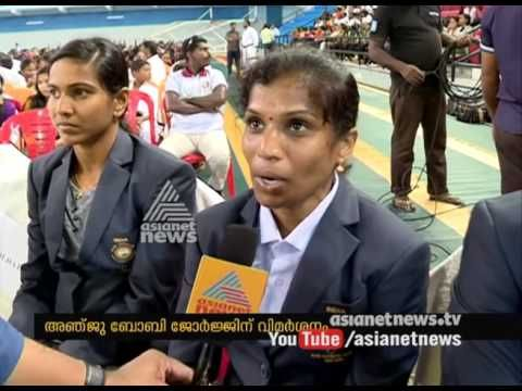 Olympian Renjith Maheswary and OP Jaisha speaks against Anju Bobby George Click…