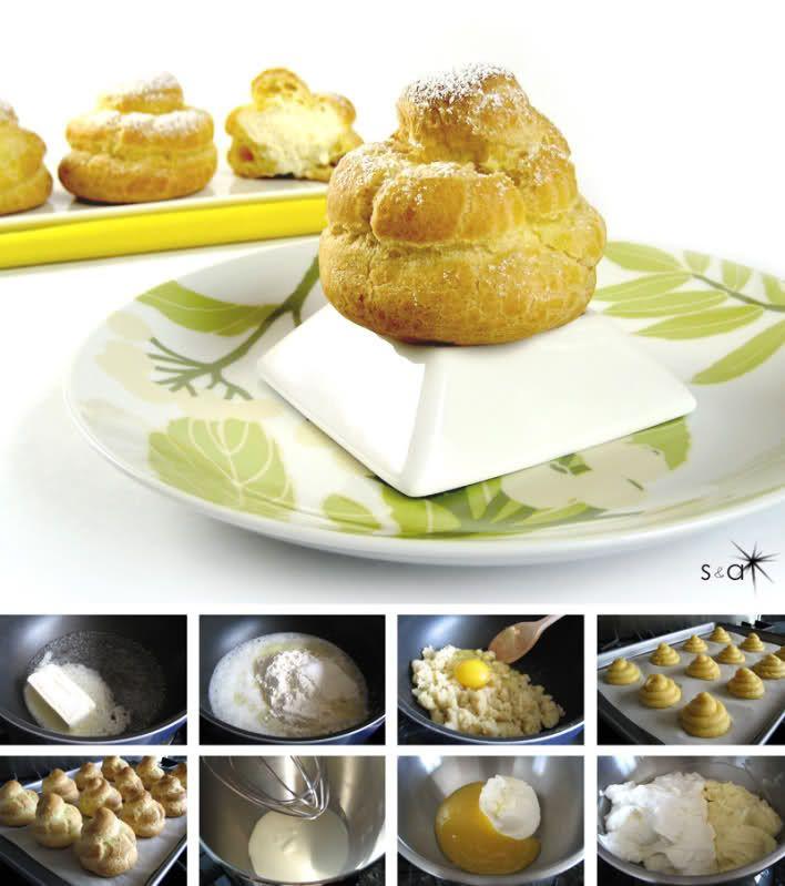 Lemon Mascarpone Cream Puffs | Croissants, Choux, and Macarons | Pint ...