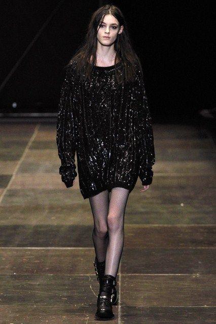 Saint Laurent - www.vogue.co.uk/fashion/autumn-winter-2013/ready-to-wear/saint-laurent/full-length-photos/gallery/950353