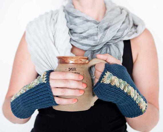 29 besten knit gloves Bilder auf Pinterest   Fingerlose handschuhe ...