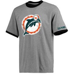 Miami Dolphins Pro Line Plymouth T-Shirt - Gray
