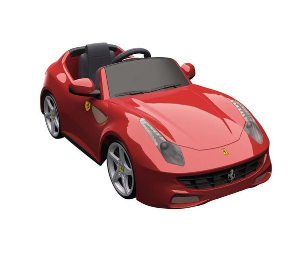 This new Ferrari FF is the latest model from the famous Italian brand. Sporty and classy looking, you kid will stand out with this motor