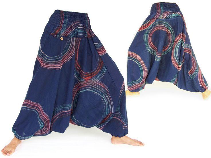Hmong broek, Aladdin broek, harembroek van Siamrose Art & Decor op DaWanda.com