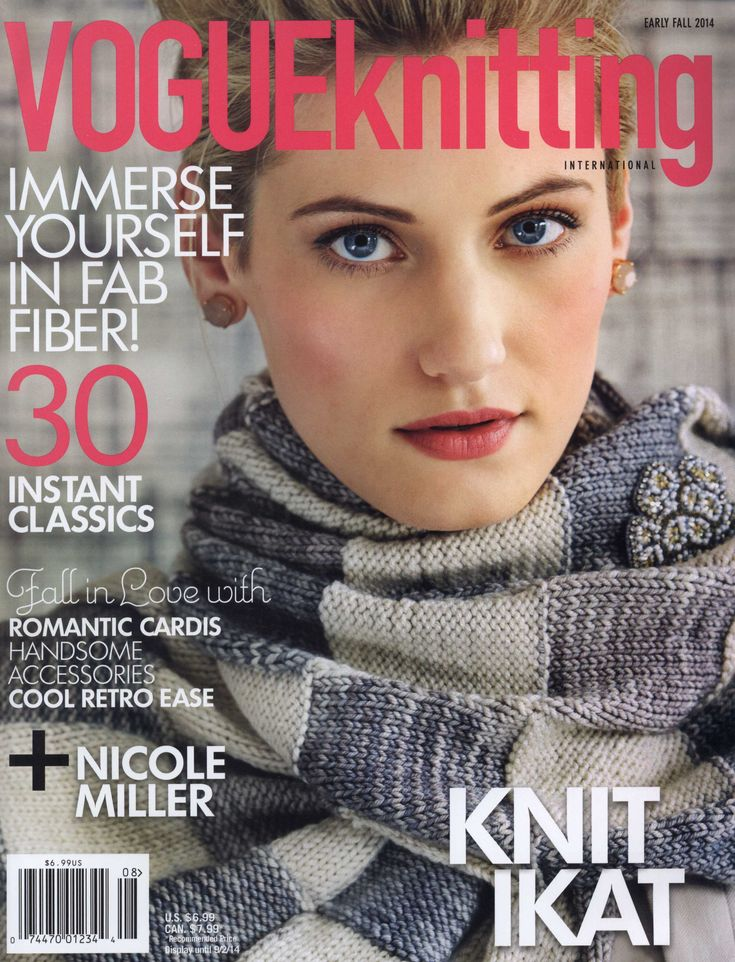 Vogue knitting early fall 2014 Trié