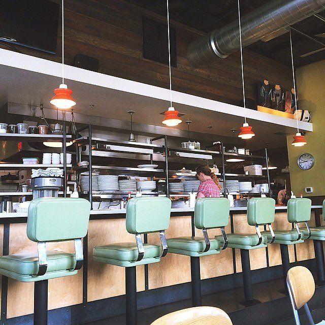 Skillet Diner, Seattle - The first iteration of this American-inspired eatery was housed in a vintage Airstream trailer, and that aesthetic carries over to its more traditional brick-and-mortar establishment—think: a slightly more streamlined take on the diner, where concrete walls meet green vinyl booths and counter stools. And while you're there, be sure to try the bacon jam.