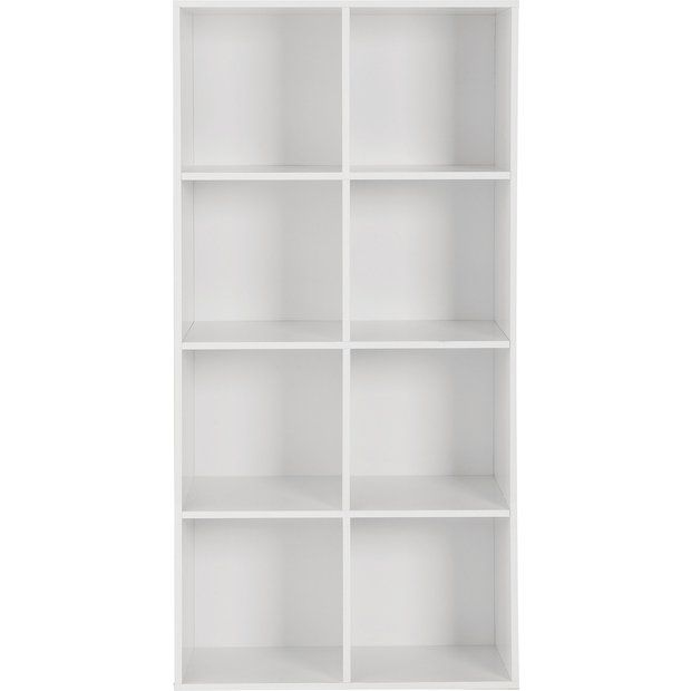 Buy HOME Phoenix 8 Cube Storage Unit - White at Argos.co.uk - Your Online Shop for Children's toy boxes and storage, Children's furniture, Home and garden.