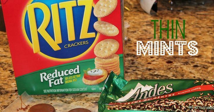 Ich war etwas zögerlich, Ritz Crackers zu verwend…
