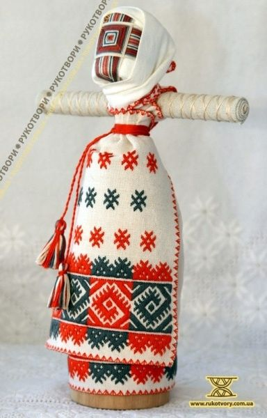 Motanka doll by sister Tetyana and Natalka Katrychenko