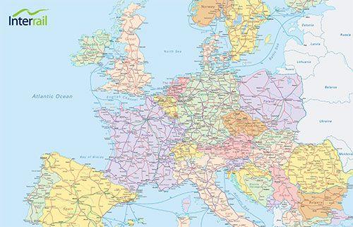 Mit dem Interrail Pass durch Europa reisen!