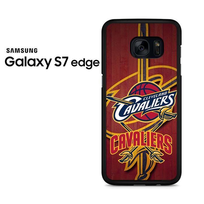 Cleveland Cavaliers Logo Wood Samsung Galaxy S7 Edge Case