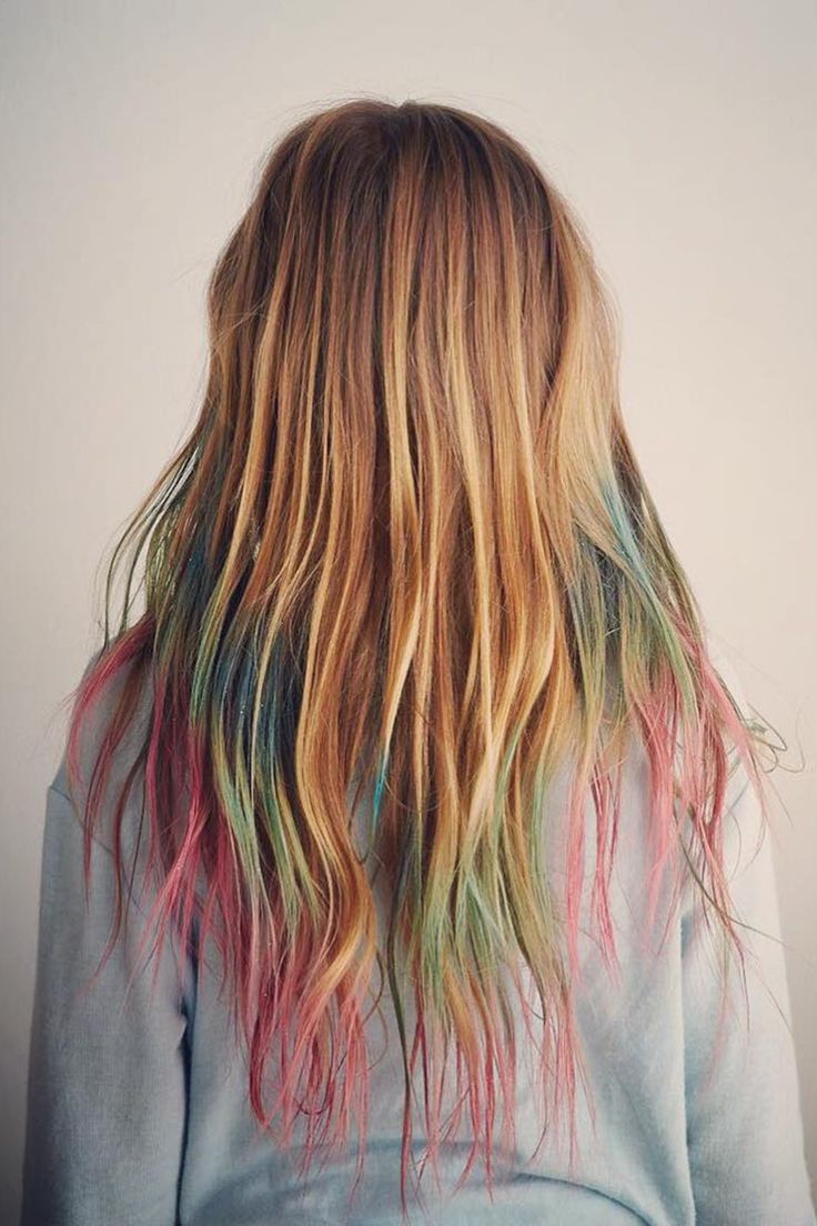 How To Use Hair Chalks