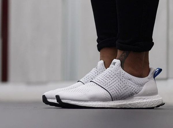 acheter Wood Wood x Adidas Ultra Boost Slip On Vintage White pas cher (2)