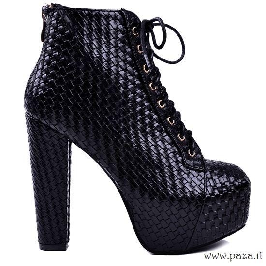 Sophia..€75.00 spedizione gratuita Clicca QUI http://www.paza.it/produkt/7308,sophia-black-boots