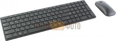Набор клавиатура+мышь Microsoft Designer 7N9-00018 клав:черный мышь:черный USB Bluetooth  — 5700 руб. —  беспроводные клавиатура и мышь, интерфейс Bluetooth, для настольного компьютера, классическая клавиатура, клавиш: 104, светодиодная мышь, 3 клавиши