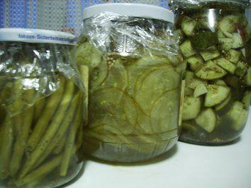 Saure Gurken - Salzgurken - Pickles