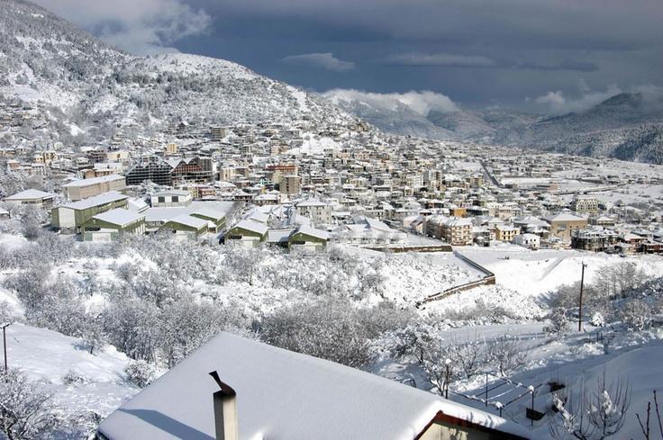 #Montana #Karpenisi #Greece