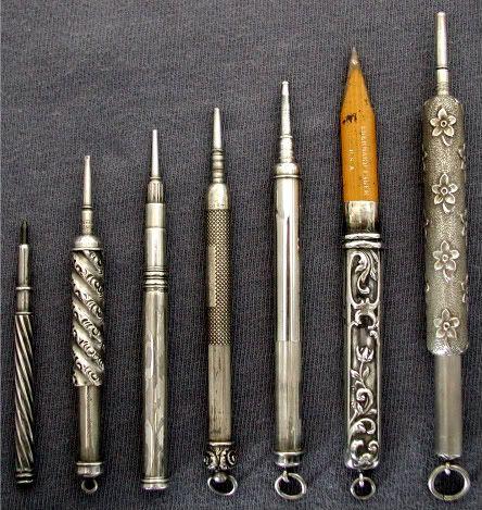 Vintage lead holders: