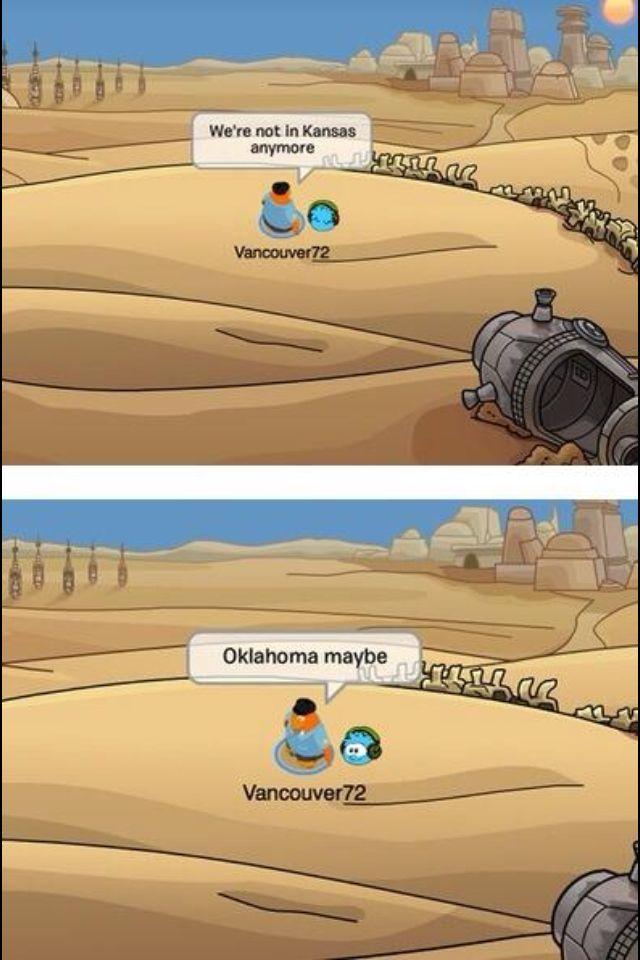 Club Penguin Humor