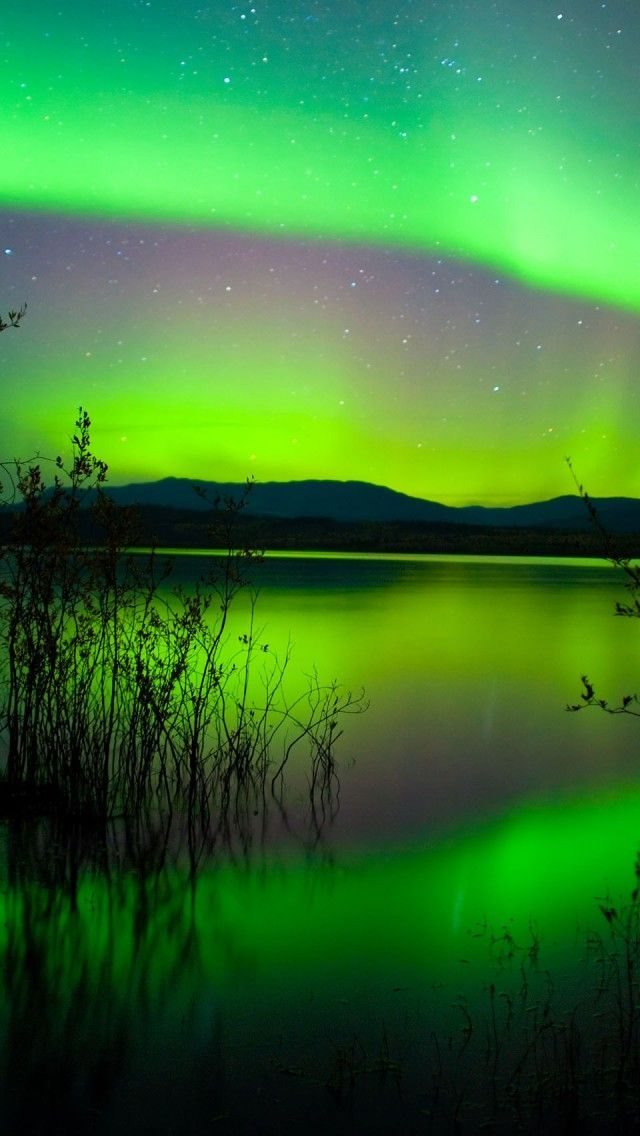 Northern Lights in Canada                                                                                                                                                     More