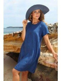 SeeSaw Linen Dress