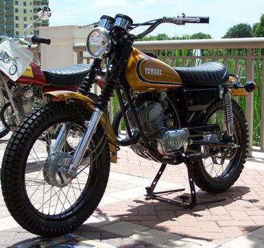 Vintage Yamaha  Stroke Bikes