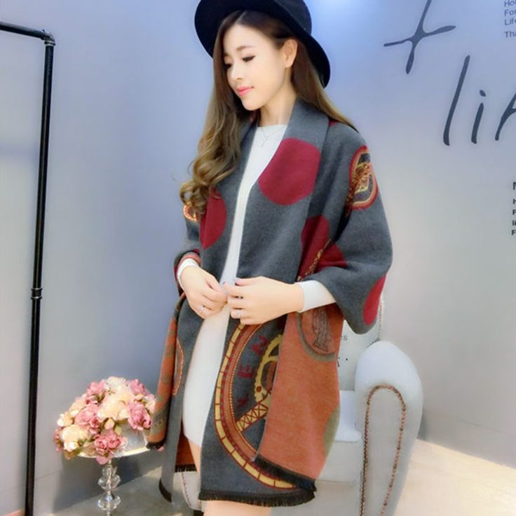 High Quality Winter Fashion Lady 185*68cm High Quality Free Goddess Dots Style Thin Women All Match Soft Scarf Shawl Pashmina