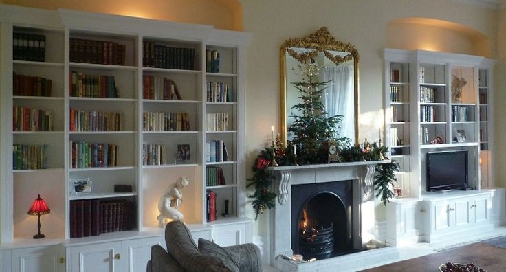 fitted bespoke bookcases