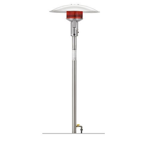 With A Chill Setting In The Sunglo Post Natural Gas Patio Heater