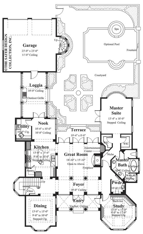 1699 best Planos de casas images on Pinterest Arquitetura, Floor