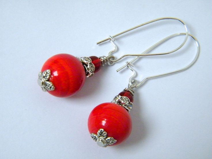 Best 25+ Red earrings ideas on Pinterest | Diy earrings ...