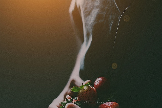 Strawberry by Mahmoud Hiepo, via Flickr | Snap (photography ... Strawberry