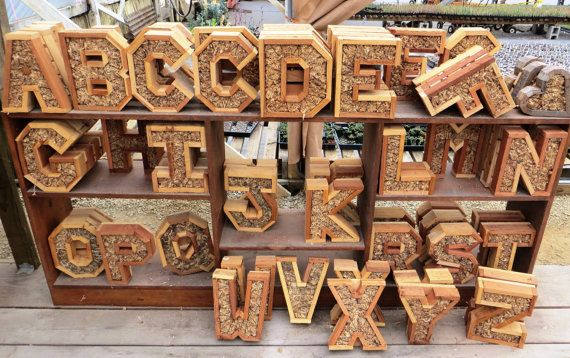 DIY Letter LARGER Planter 20 inch by RootedInSucculents on Etsy
