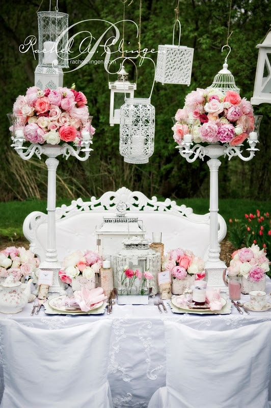 50 best pink weddings by rachel a clingen images on pinterest shabby chic wedding creative wedding decor toronto rachel a junglespirit Gallery