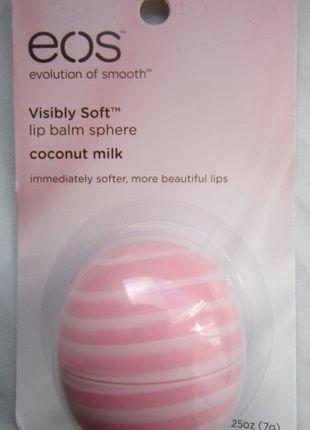 Kupuj mé předměty na #vinted http://www.vinted.cz/kosmetika-a-prislusenstvi/kosmetika/9806709-balzam-na-rty-coconut-milk-kokosove-mleko-od-eos