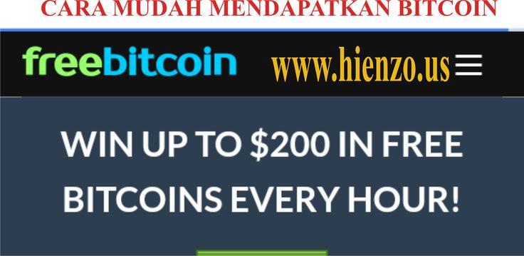 Cara Mudah Mendapatkan Bitcoin Gratis di Internet