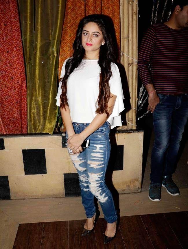 Mahi Vij at Tellychakkar's 11th anniversary bash. #Bollywood #Fashion #Style #Beauty #Hot