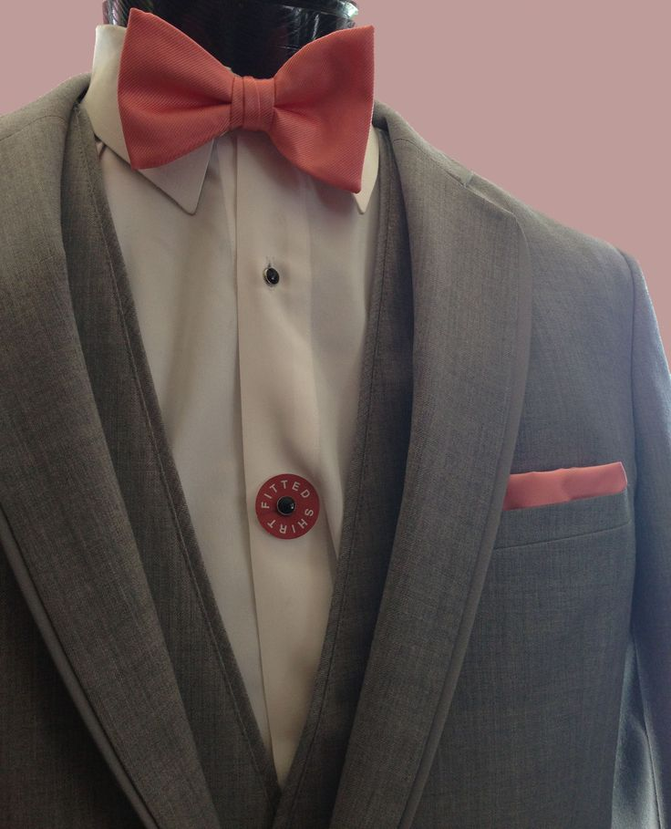 Mr. Tux has got you covered. Stay stylish this summer in Jean Yves's heather grey tuxedo.  #JeanYves #Tuxedo #Groom #Groomsmen #Summer #Style #Trending
