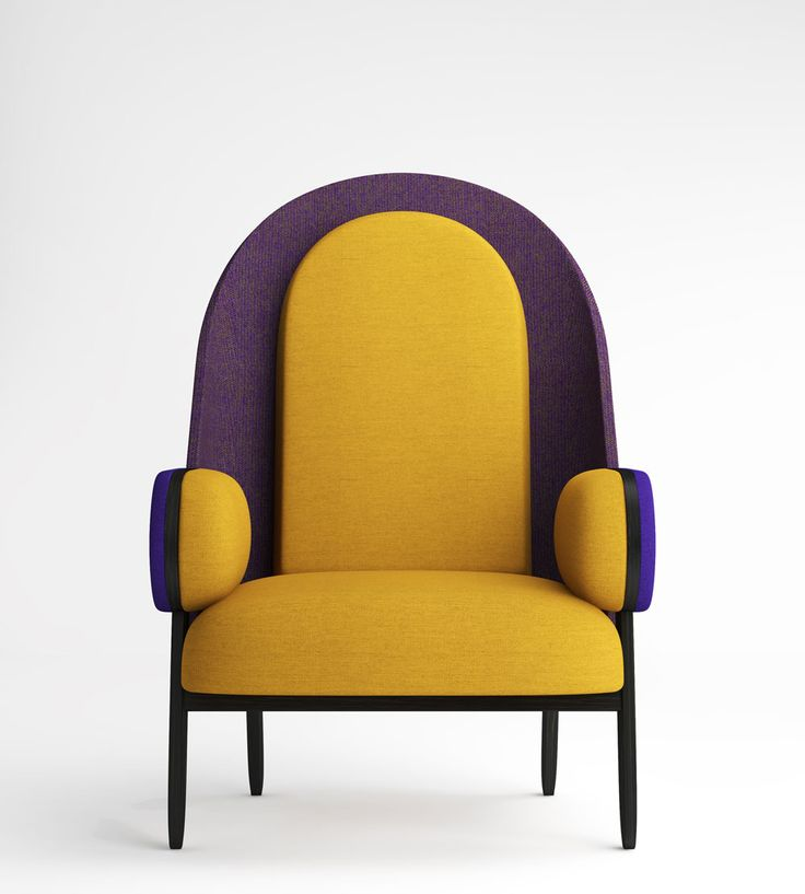 Modern and fun design | colorful armchairs for young ans relax decor  |www.bocadolobo