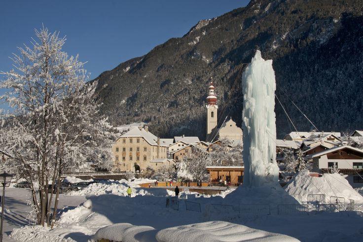 #Winter in schönen #Pfunds mit Eisturm