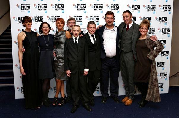 El equipo de Selfish Giant en el BFI