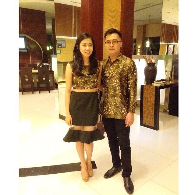 another inspiration for batik dress
