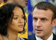 Rihanna interpelle Emmanuel Macron sur Twitter