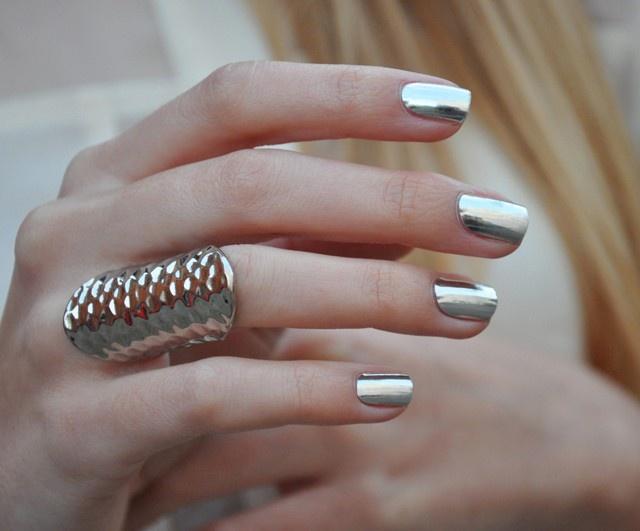Nail Wrap  Anything Silver!